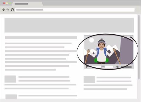 La Rete Display è costituita da milioni di siti web, tra cui siti web specifici di Google quali Gmail, Blogger e YouTube, che pubblicano gli annunci AdWords.