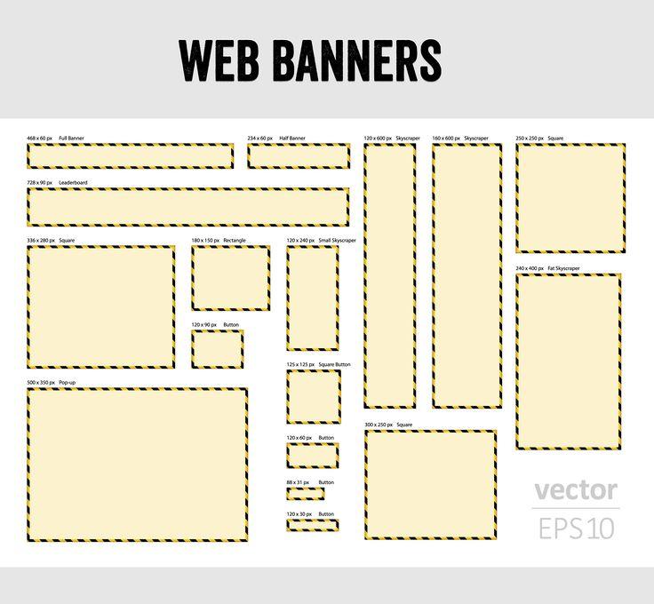 Oltre ai classici annunci di testo AdWords consente anche la pubblicazione di annunci illustrati, vediamo quali sono i formati supportati.
