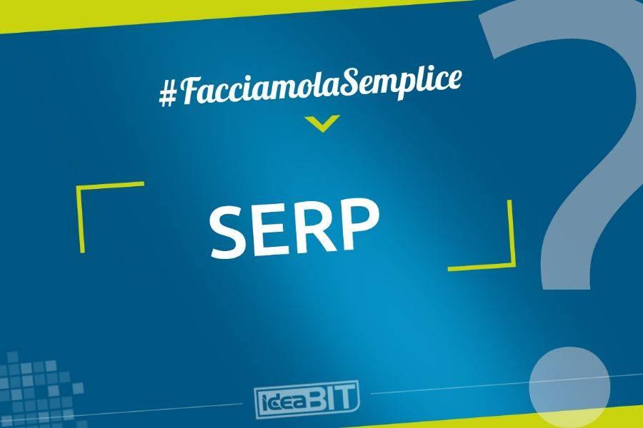 SERP è l'acronimo della locuzione inglese