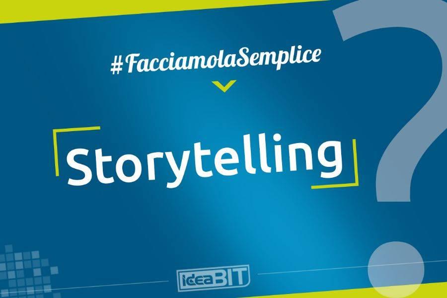 Lo Storytelling è l'arte di narrare, di raccontare una storia ed è la nuova frontiera del marketing.