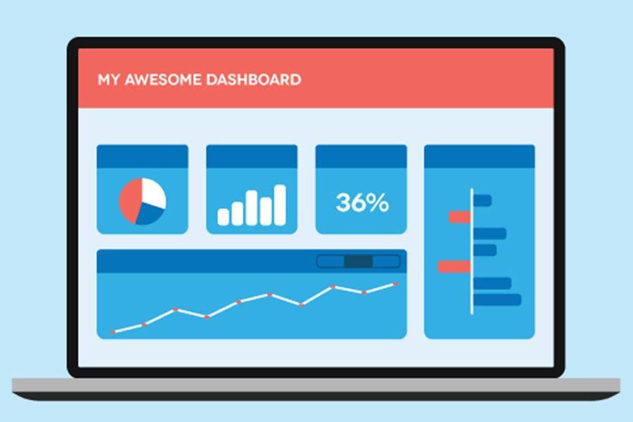 Le dashboard permettono di controllare rapidamente lo stato dell'account grazie a un insieme personalizzato di rapporti e metriche.