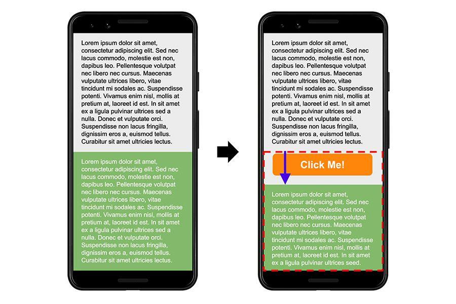 La stabilità visiva delle pagine web è un parametro importantissimo per assicurare all'utente un'esperienza di navigazione soddisfacente.