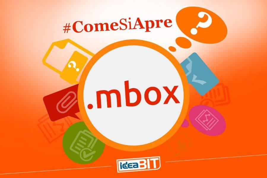 MBOX sta per Mailbox, è un formato che serve per archiviare i messaggi di posta elettronica, concatenandoli uno dopo l'altro in un unico file di testo.