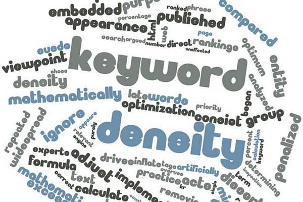 La keyword density, un tempo ritenuto fattore premiante