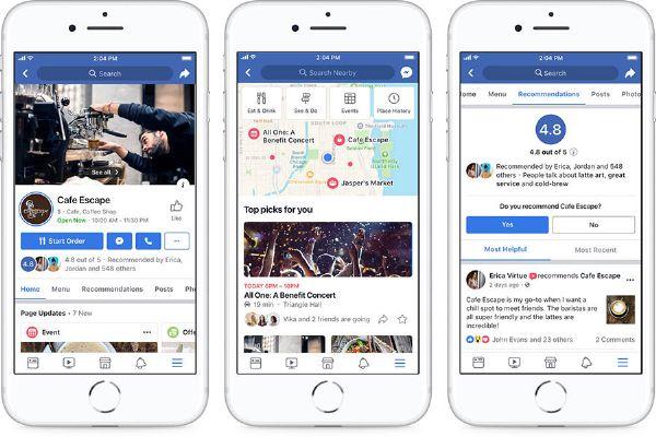 Da Luglio Facebook cambia il design delle pagine