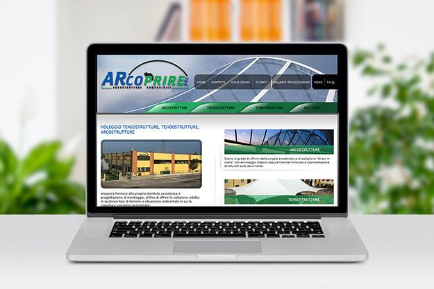 Creazione sito web per Arcoprire