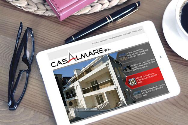 Creazione sito web per Casalmare