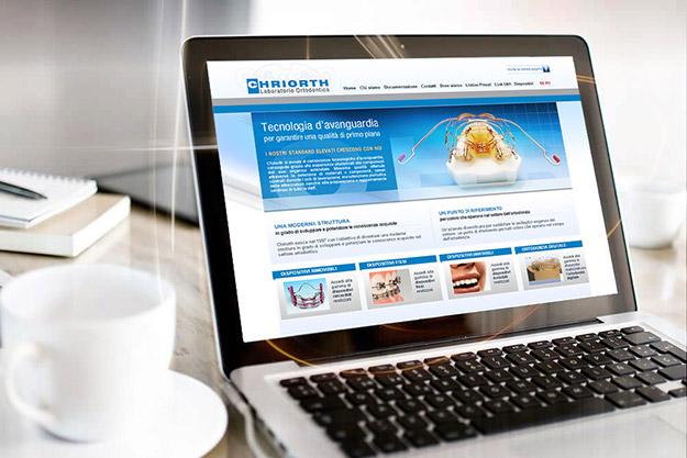 Realizzazione sito internet per Chriorth di Bologna