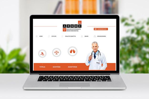 Creazione sito web per Difesa Medica, associazione con sede a Bologna