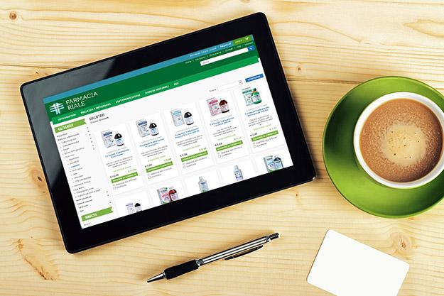 Sito e-commerce per la vendita online di prodotti per il benessere