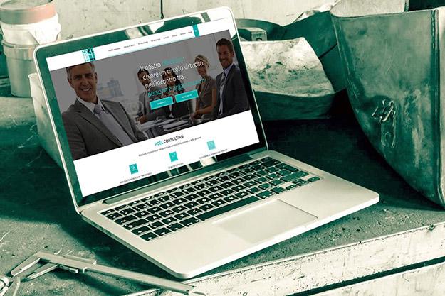 Creazione sito web per Hoel Consulting, azienda di Bologna