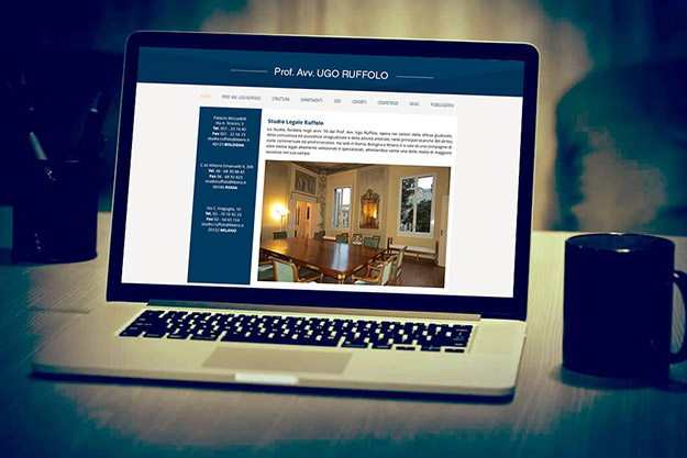 Realizzazione sito web per Studio Ruffolo di Bologna
