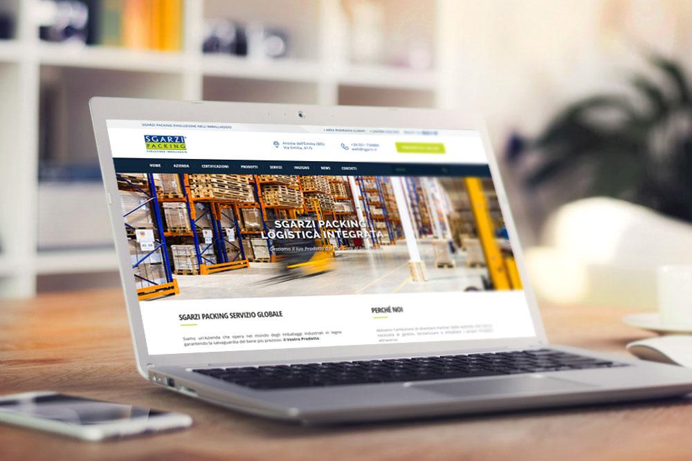 Sito web per azienda