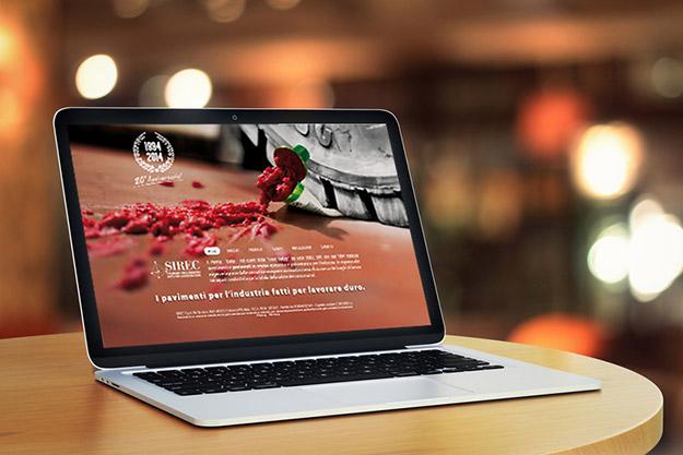 Realizzazione sito web per SIREC Spa