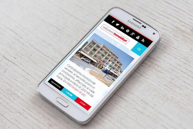 Costruzione sito internet per Soluzioni Immobiliari