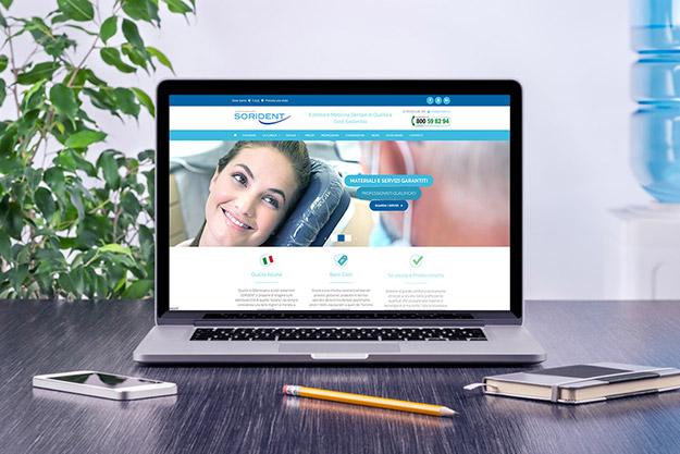 Realizzazione sito internet per Sorident