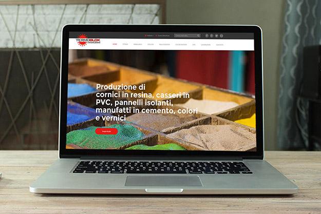 Creazione sito web con gestione dei contenuti per Termoblok