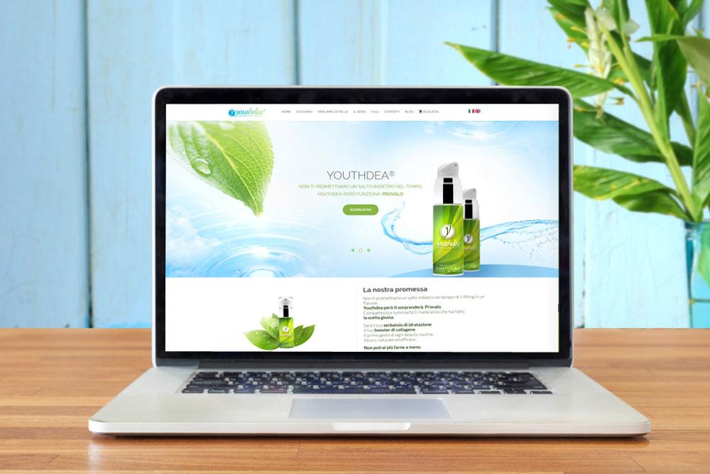 Realizzazione sito web per Youthdea
