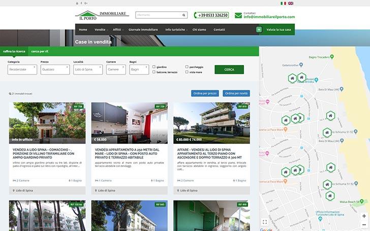 Sito internet per agenzia immobiliare