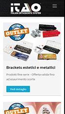 Sito web per azienda specializzata nella commercializzazione e vendita di prodotti per Ortodonzia