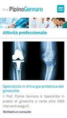 Sito internet per medico chirurgo Specialista in Ortopedia e Traumatologia