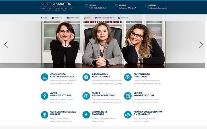 Sito web per studio di commercialisti