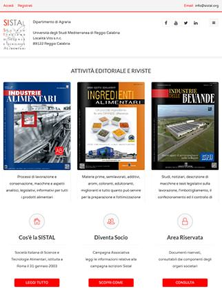 Sito web della Società Italiana di Scienze e Tecnologie Alimentari