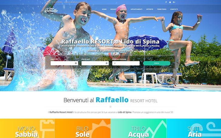 Sito web per Residence Hotel