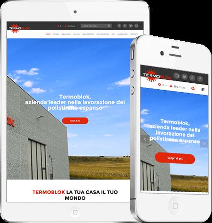 Sito web per azienda di produzione